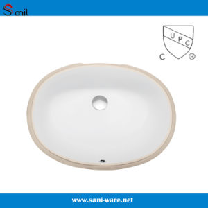 China Sanitary Ware Ceramic Undermount Bathroom Basin (SN013) pictures & photos