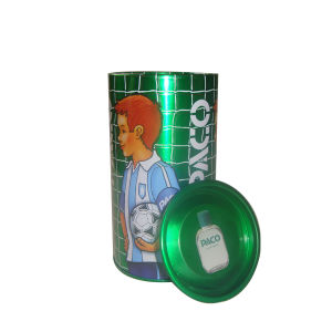 Round Perfume Tin Box for Sports Man Perfume Tin Box Package pictures & photos