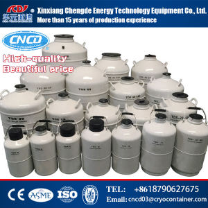 Transport Type Liquid Nitrogen Biological Container pictures & photos