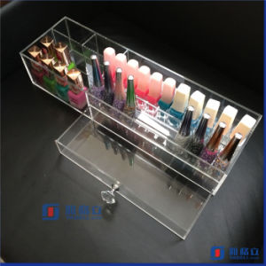 Wholesale Custom Black Acrylic Nail Polish Stand with Logo pictures & photos