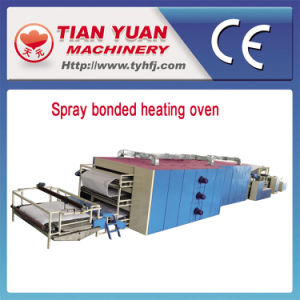 Nonwoven Spray Bonded Wadding Production Line pictures & photos