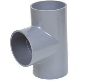 PVC Fitting UPVC Regular Tees pictures & photos