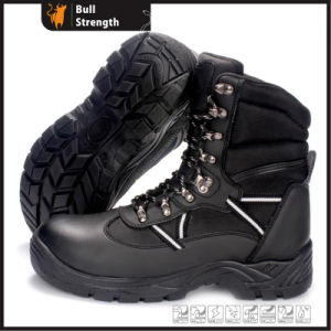 Leather Safety Boots with PU Sole (SN5400) pictures & photos
