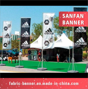 Flying Banner Wind Light Weight Customized Water Injection with Dye Sublimation