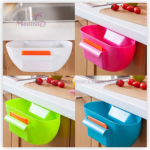Kitchen Cupboard Hanger Desktop Plastictrash Garbage Storage Bin Box pictures & photos