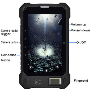 7 Inch Rugged 3G Android Barcode Tablets PC with Fingerprint pictures & photos