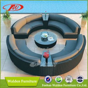 Rattan Outdoor Furniture Round Garden Sofa (DH-636) pictures & photos
