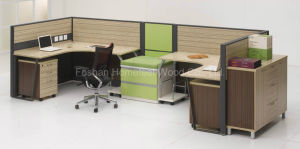 Fashion Office Cubicle Modern Design Office Workstation (HF-LT021) pictures & photos