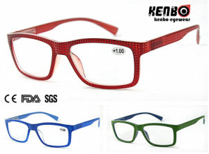Hot Sale Square Frame Reading Glasses, CE FDA Kr5120 pictures & photos