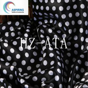 Cheap Polyester Silk Polyester Satin Fabric for Headwear pictures & photos