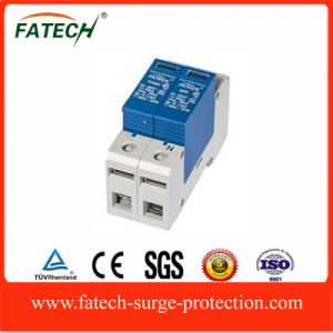 chinese exporters lightning spd 385v 1+NPE MOV surge arrester trabset 60ka with CE pictures & photos