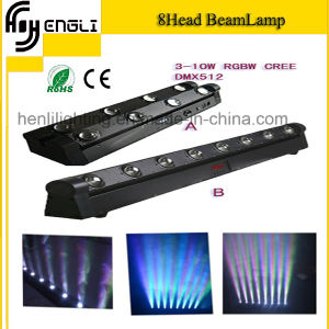 Eight Head RGBW 4in1 LED Beam Light for Stage (HL-053) pictures & photos