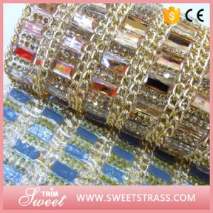 Top Quality Metal Chain Shiny Crystal Handbag Sticker Sheet pictures & photos