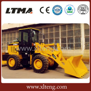 2ton Chinese Loader Zl20A Mini New Wheel Loader with Ce pictures & photos