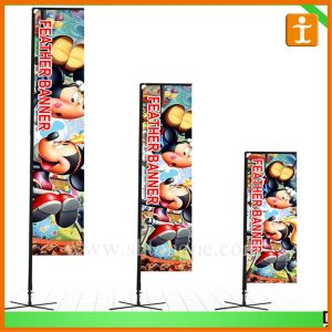 Company Logo Promotional Blade Beach Wind Flag (TJ-48) pictures & photos