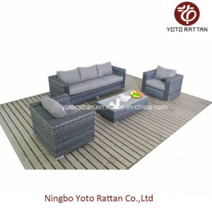 Wicker Rattan Sofa with Three Seater (1506) pictures & photos