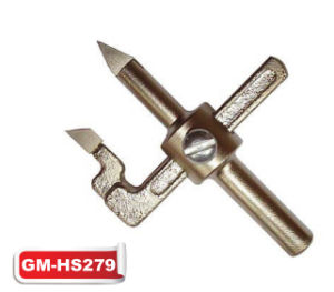 Adjustable Carbide Tipped Hole Cutters for Tiles (GM-HS279) pictures & photos