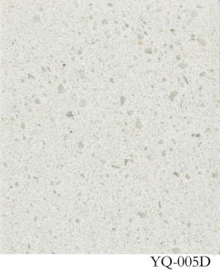 Quartz/ White Quartz/ Solid Surface (YQ-005D) pictures & photos