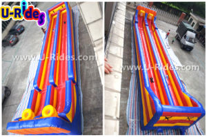 Wholesale sport games double lane Inflatable Bungee Run with Basketball hoops pictures & photos