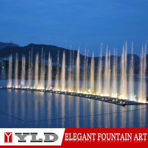 China Supplier Magic Decorative Garden Dacing Music Fountain