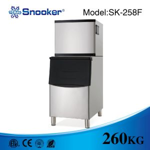 Luxury Stainless Steel 304 Granular Ice Maker From Snooker pictures & photos
