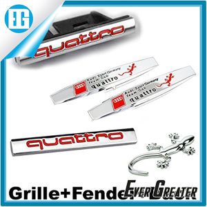 Front Grille Fender Side Sticker Back Car Emblem Badge pictures & photos