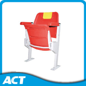 Anti-UV, Anti-Aging, Fire-Resistant HDPE Plastic Folding Stadium Seat for Sport pictures & photos
