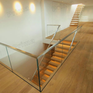 U Channel Balcony Railing Design Glass/ Plexiglass Deck Railing pictures & photos