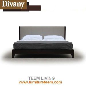 Modern New Design Fabric Leather Bed pictures & photos