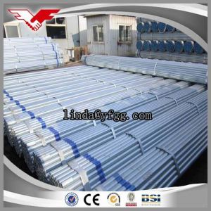 Hot Dipped Galvanized Steel Pipe BS1387 ASTM A53 pictures & photos