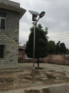 LED Solar Street Light with High Rate Solar Panel and MPPT Controller pictures & photos