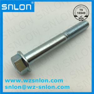 Hex Flange Bolt Screw High Quality for Auto Parts pictures & photos