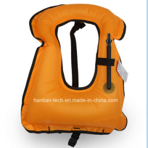 Customized Color TPU Diver Vest Inflatable Water Swim Vest Floating Life Vest pictures & photos