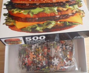 Promotional 3D Toy Jigsaw for Restaurant pictures & photos