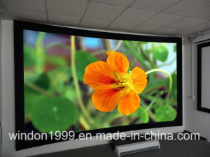 200 Inch Home Theater 3D Curved Projetcion Screen pictures & photos