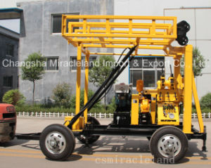200m Trailer Mounted Portable Hydraulic Water Well Drill Equipments (YZJ-200YY) pictures & photos