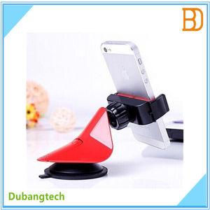 S056 Car Clip Arc Design Phone Holder (Biaxial tension)