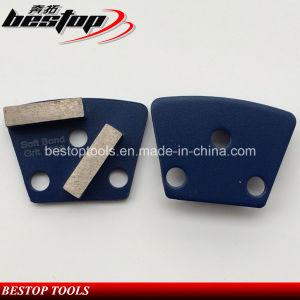 Grit 120# Magnetic Back Concrete Diamond Floor Abrasive Block pictures & photos