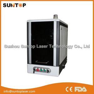 High Speed Fiber Laser Marking Machine Price/Fiber Marker/Laser Marker for Logo and Letters pictures & photos