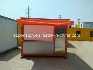 Low Profit Portable Simple Mobile Prefabricated/Prefab Coffee Bar/House in The Street pictures & photos