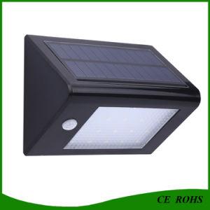 PIR Sensor Solar Garden Wall 20 LED Light with Ce & RoHS pictures & photos