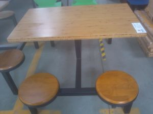Hot Sale Fast Food Restaurant Table and Chair pictures & photos