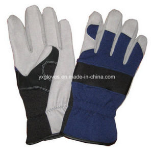 Work Glove-Labor Glove-Industrial Glove- Safety Glove-Synthetic Leather Glove pictures & photos