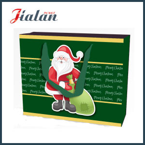 Christmas Santa Claus Cost Production Paper Gift Bags pictures & photos