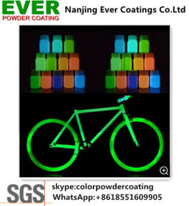 Green Glowing in The Dark Spray Powder Coating pictures & photos