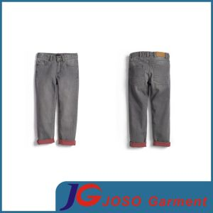 Grey Colour Long Straight Children Apparel Jeans for Boy (JC8045) pictures & photos