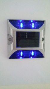 Blue Aluminum Solar LED Road Stud pictures & photos
