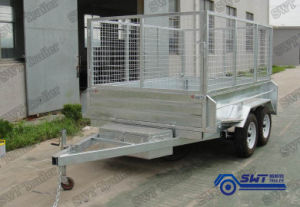 Easy to Carry Tipping Tandem Cage Trailer (SWT-HTT105) pictures & photos