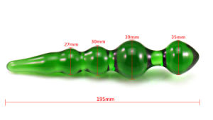 Crystal Dildo Sex Toy for Women Ij-Bl040 pictures & photos