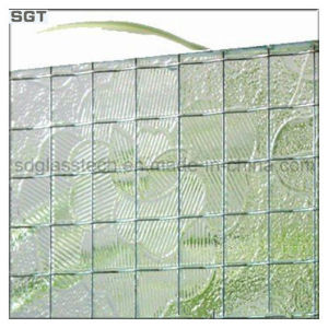 Clear Wired Patterned Glass with CE SGS pictures & photos